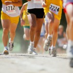 Group of cross-country runners, low section (Digital Enhancement)