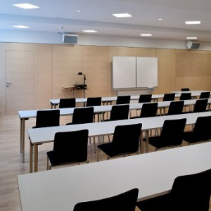 Seminar room of the University of Music, Vienna, Austria