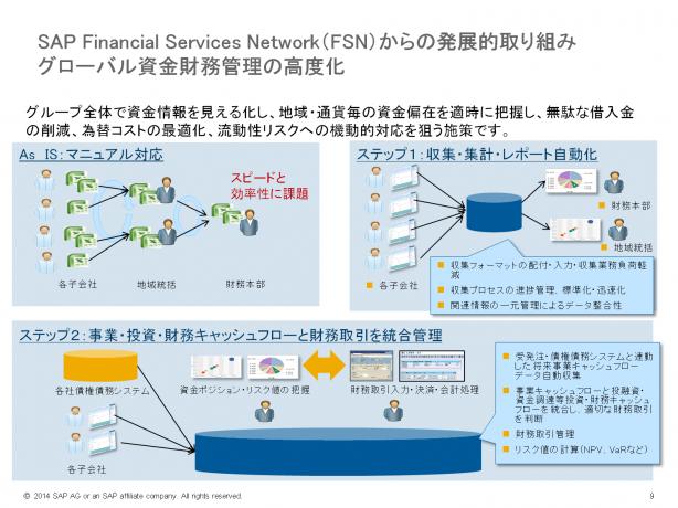 SAP FSNからの発展的取り組み