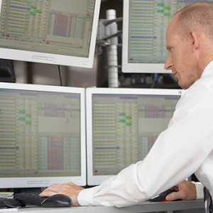 Financial trader