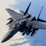 F-15E Strike Eagle During Combat Mission Over Iraq