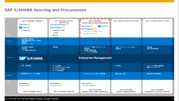 SAP S/4HANA Sourcing and Procurement