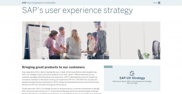 SAPのUX戦略