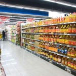 China --- Supermarket shelves --- Image by © AStock/Corbis