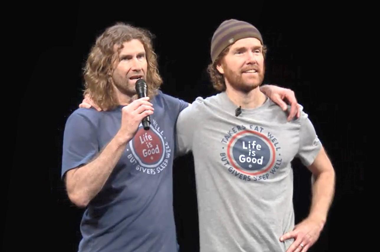 Bert and John Jacobs
