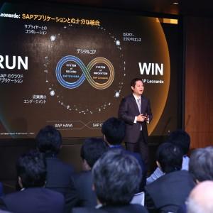 SAPジャパン 代表取締役社長 福田譲