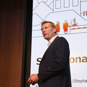 SAP シニアバイスプレジデント IoT Moving Assets担当 ステファン・ブランド