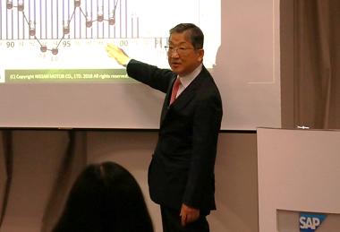 日産自動車株式会社 取締役/株式会社産業革新機構 代表取締役会長(CEO) 志賀俊之氏