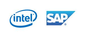 インテルとSAPのロゴ