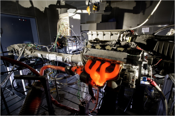 AMG Engine Test Bench