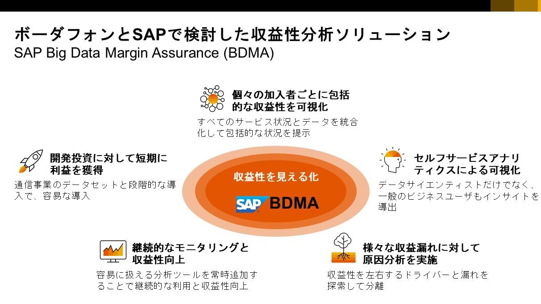 通信収益分析ソリューションSAP BDMA