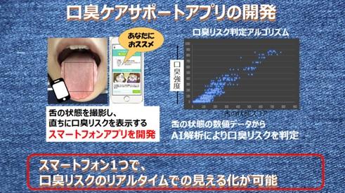 口臭ケアアプリ
