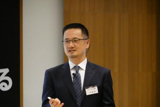 講演中のSAP村田聡一郎