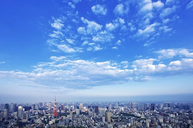 Tokyo, Japan --- Tokyo cityscape --- Image by © Iplan/amanaimages/Corbis