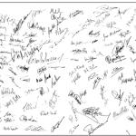ワークショップ参加役員のサイン
