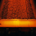 Molten Steel, Close-up --- Image by © James Hardy/PhotoAlto/Corbis