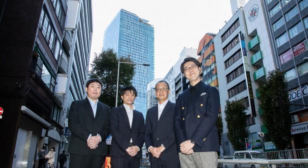 渋谷スクランブルスクエア前