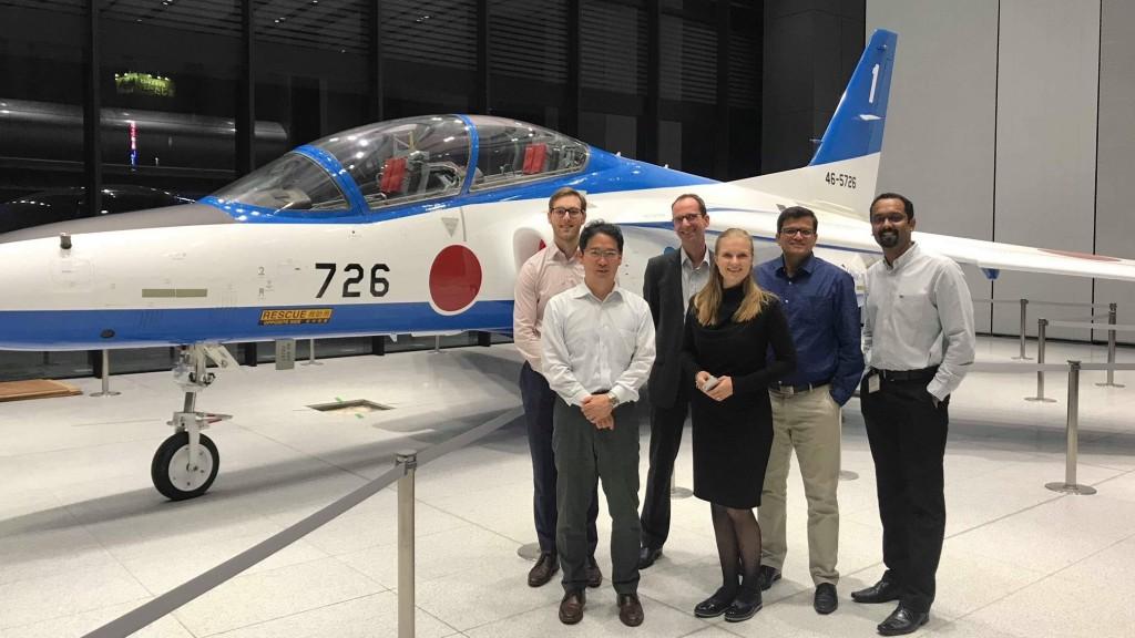 SAPグローバルの開発チームが川崎重工業の岐阜工場に訪れワークショップを開催