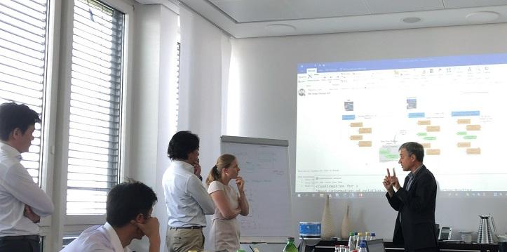 Smart-KプロジェクトチームがSAP本社のワルドルフを訪れ、SAP S/4HANA PEO稼働に向けて議論